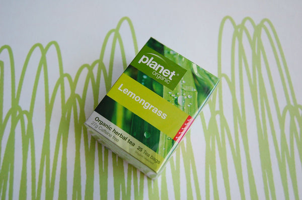 Planet Lemongrass Teabags (25)