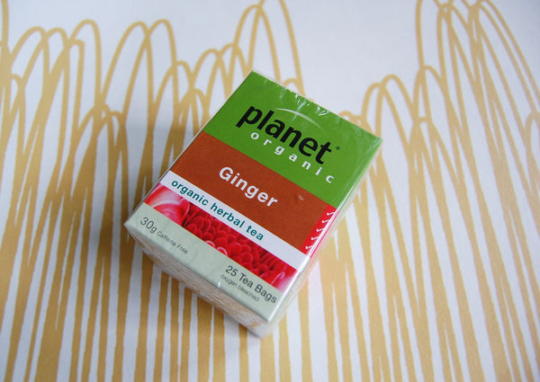 Planet Ginger Teabags (25)