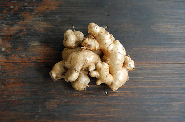 Ginger, fresh knob