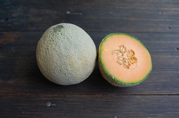 Rockmelon small half