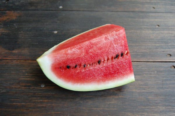 Watermelon, with seeds