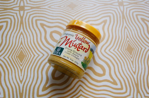 Mustard, Smooth yellow (200g)