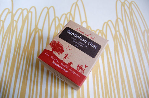 Dandelion Chai, loose leaf box (Love Chai) - 100g