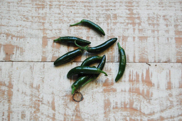 Chillies, Green - each