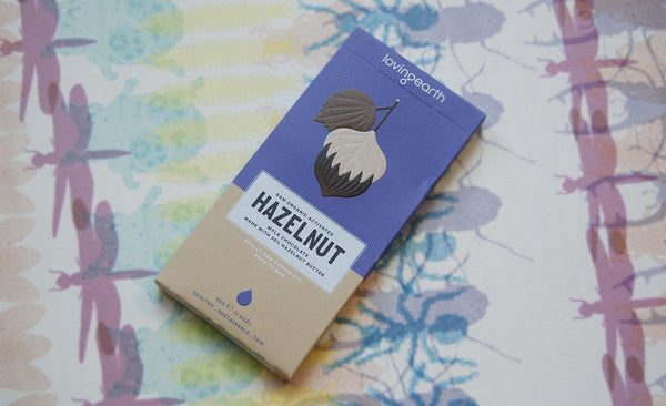 Loving Earth Hazelnut Mylk Chocolate (80g)