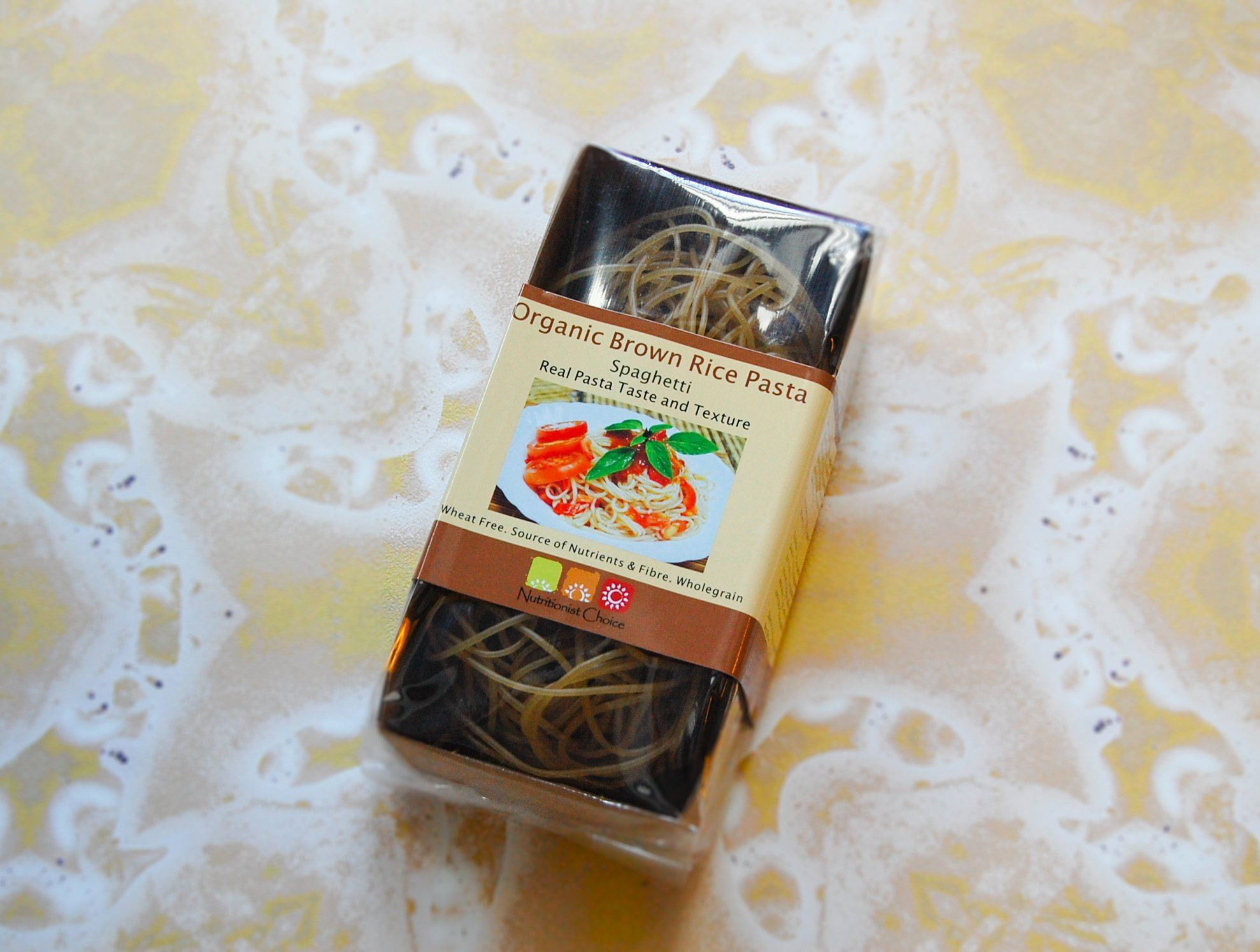 Brown Rice Spaghetti Pasta, Nutritionist Choice (180g)
