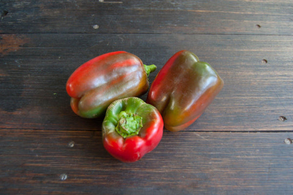 Capsicum, mixed colour