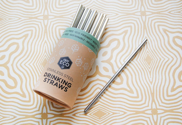 Stainless Steel Straws, Ever Eco