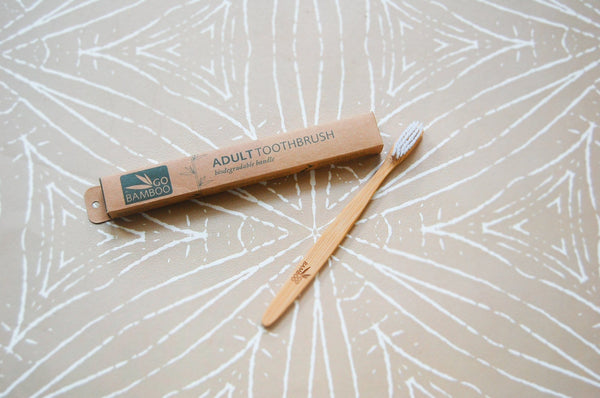 Toothbrush, Adult (Go Bamboo)