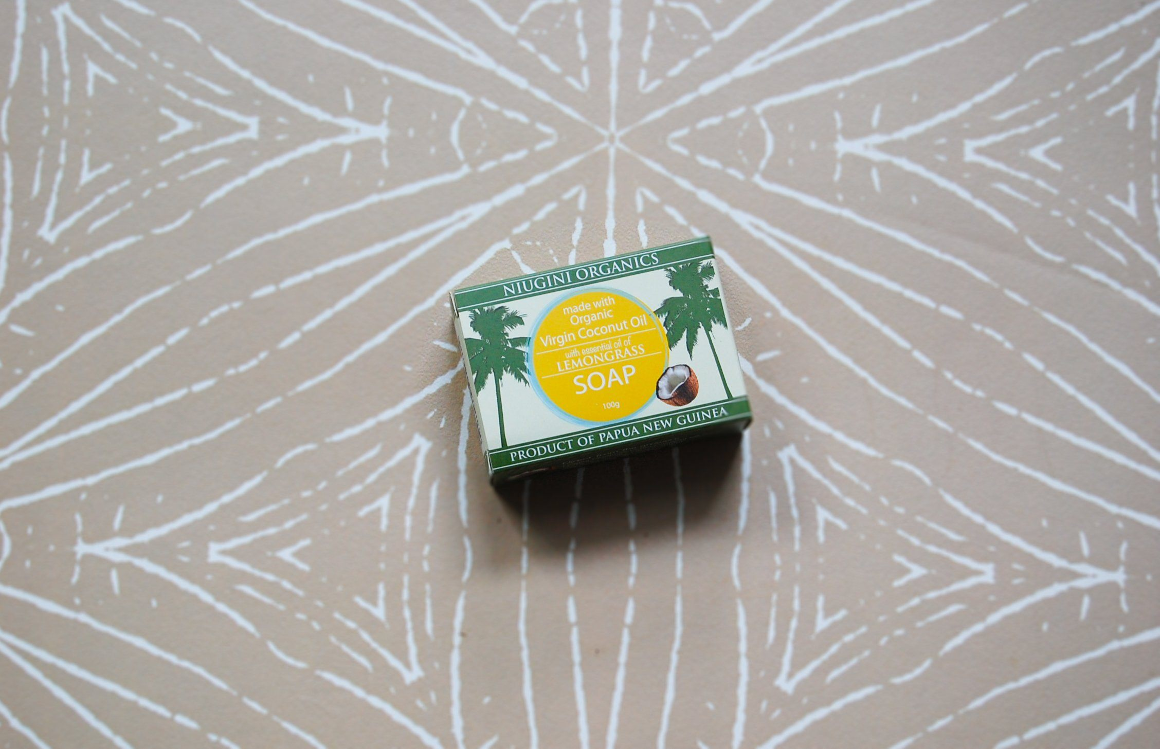 Coconut Oil Soap, Lemongrass (Niugini)