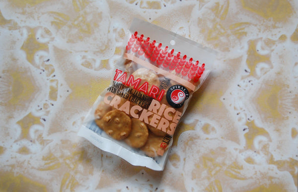 Brown Rice Crackers, Tamari 65g
