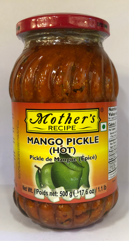 Mother's Mango Pickle (Hot) 500 gms