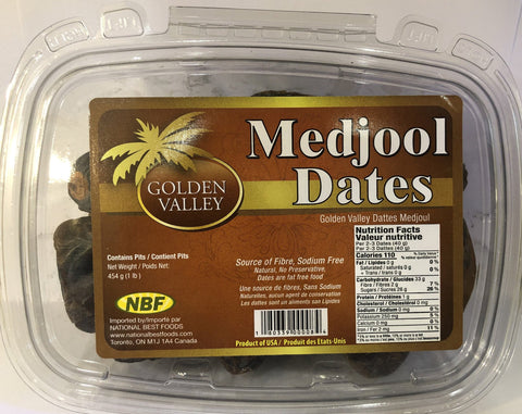 NBF Dates Medjool 454 gms