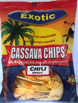Exotic Cassava Chips Chilli 150 gms