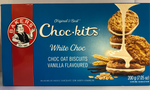 Bakers White Choc Oat Vanilla Flavoured Biscuits 200 gms