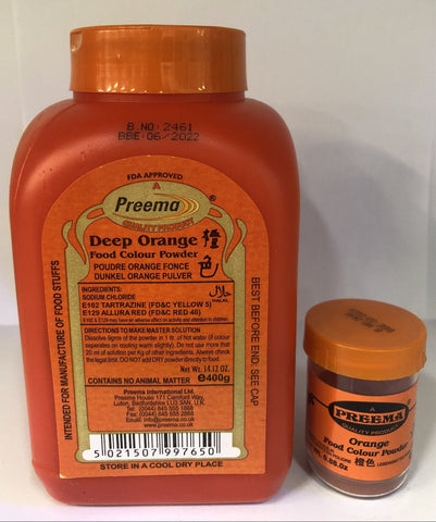 Preema Orange Food Colour