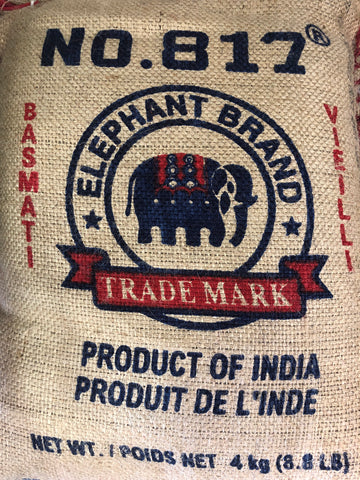 Elephant Brand No. 817 Basmati Rice 8.8 lb