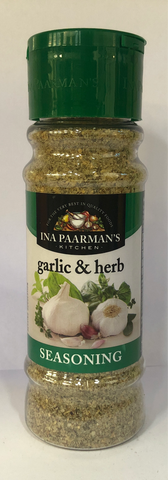 INA Paarman's Garlic & Herb Seasoning 200 mL