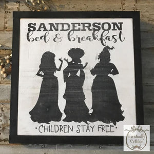 Framed Wood Sign - Hocus Pocus Inspired Sign