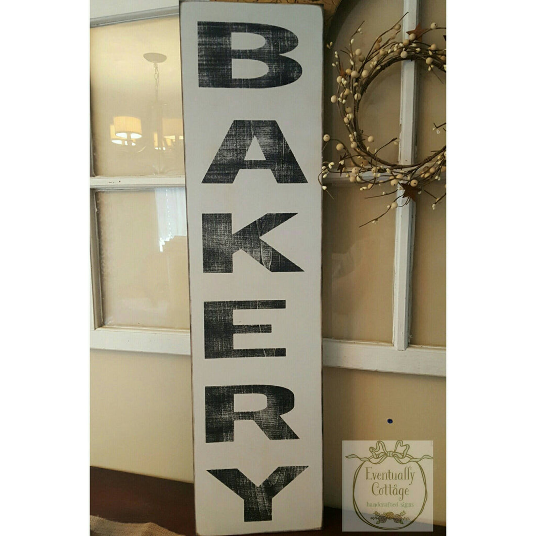 Wood Sign - Bakery