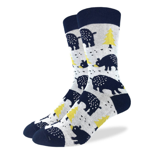 Bears in the Forest Socks
