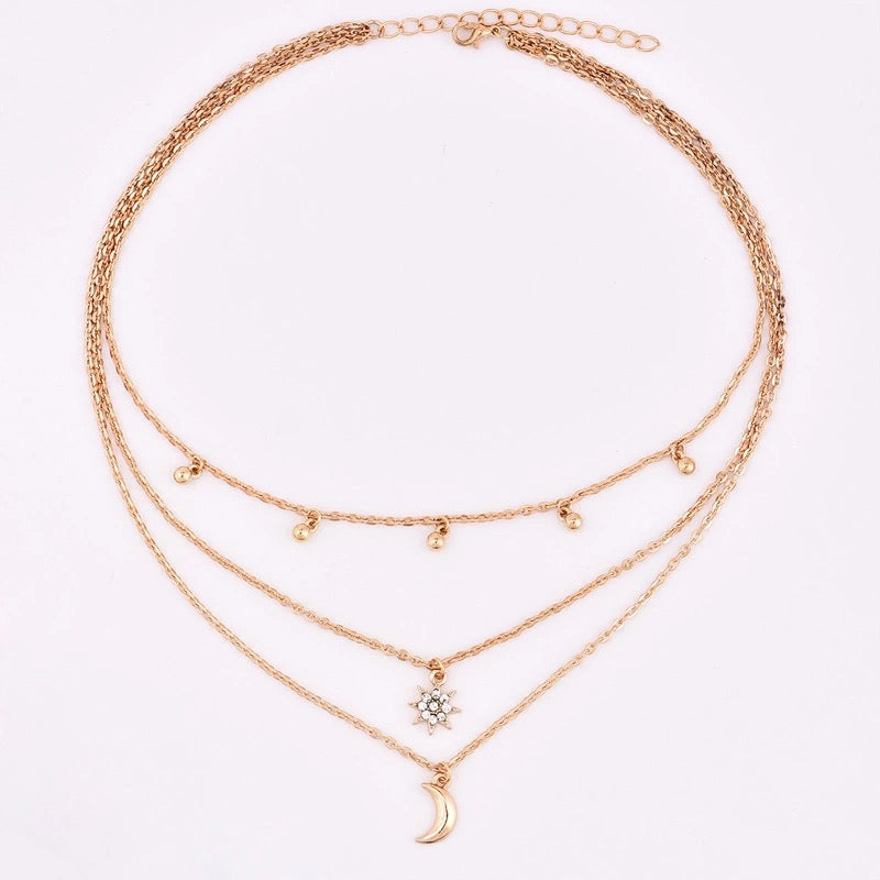 CLEO NECKLACE (GOLD) - PRE ORDER