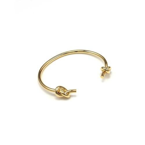 DOUBLE KNOT CUFF (GOLD)