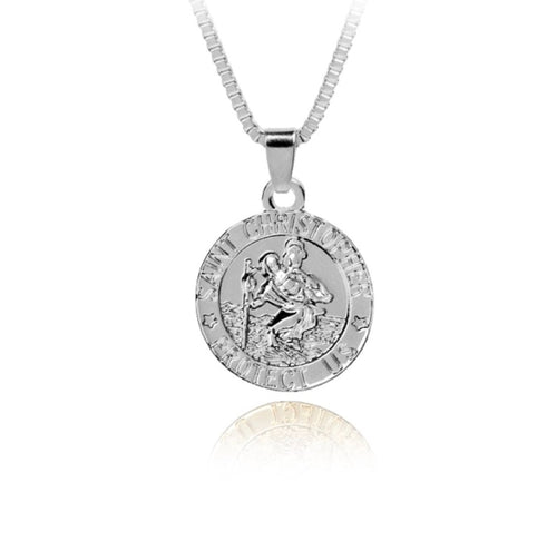 ST CHRISTOPHER NECKLACE (SILVER) - PRE ORDER