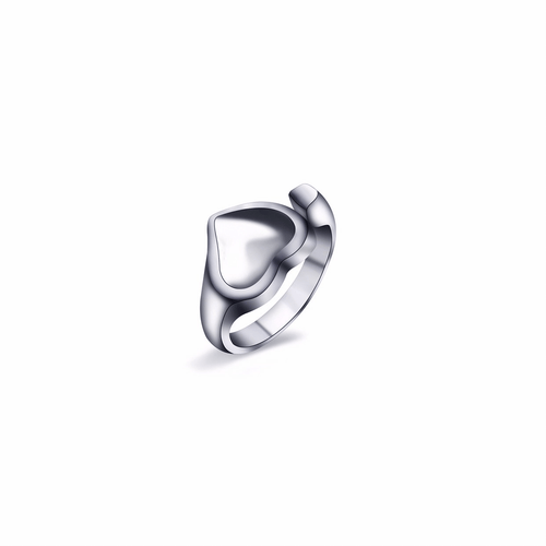 HEART RING (SILVER)