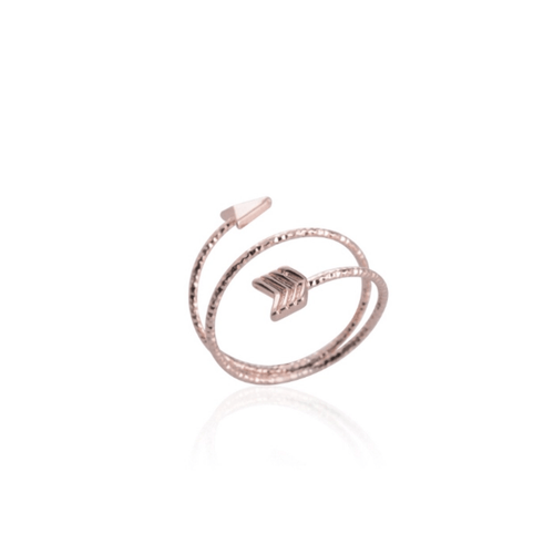 ARROW RING (ROSE GOLD)