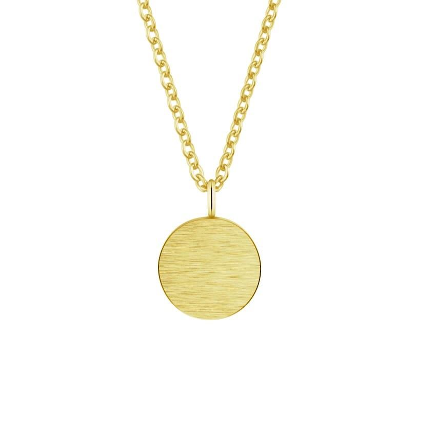 DISC NECKLACE (GOLD)