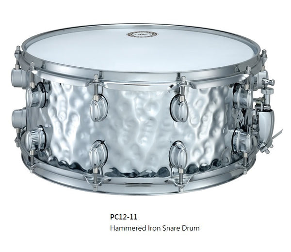 Hammered Iron Snare Drum (PC12-11)
