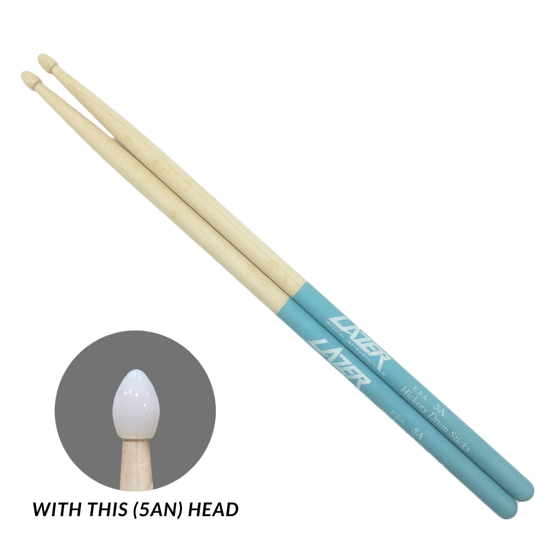 Blue Anti-Slide Hickory Drumstick (PC163)