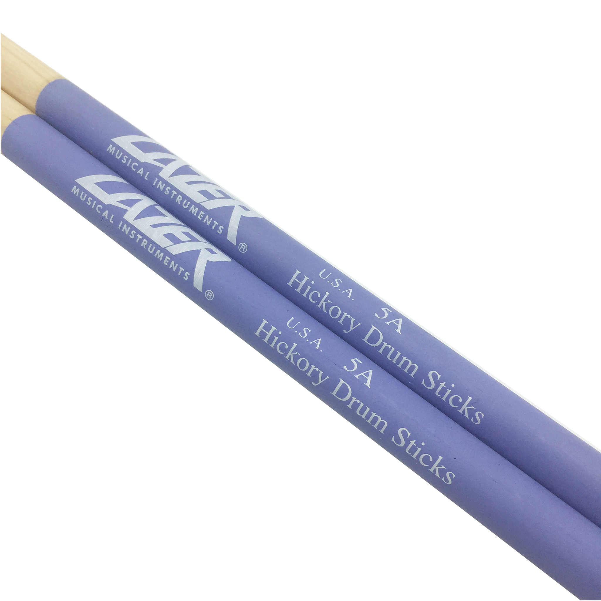 Purple Anti-Slide Hickory Drumstick (PC163)