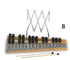 Chromatic Glockenspiel 30 Notes (PE-072B)