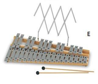 Chromatic Glockenspiel 30 Notes (PE-072E)