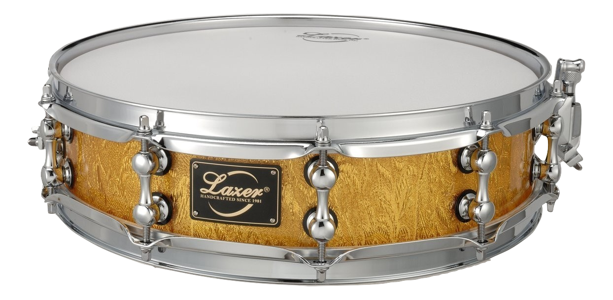 Gold Acrylic Snare Drum (SD-14A)