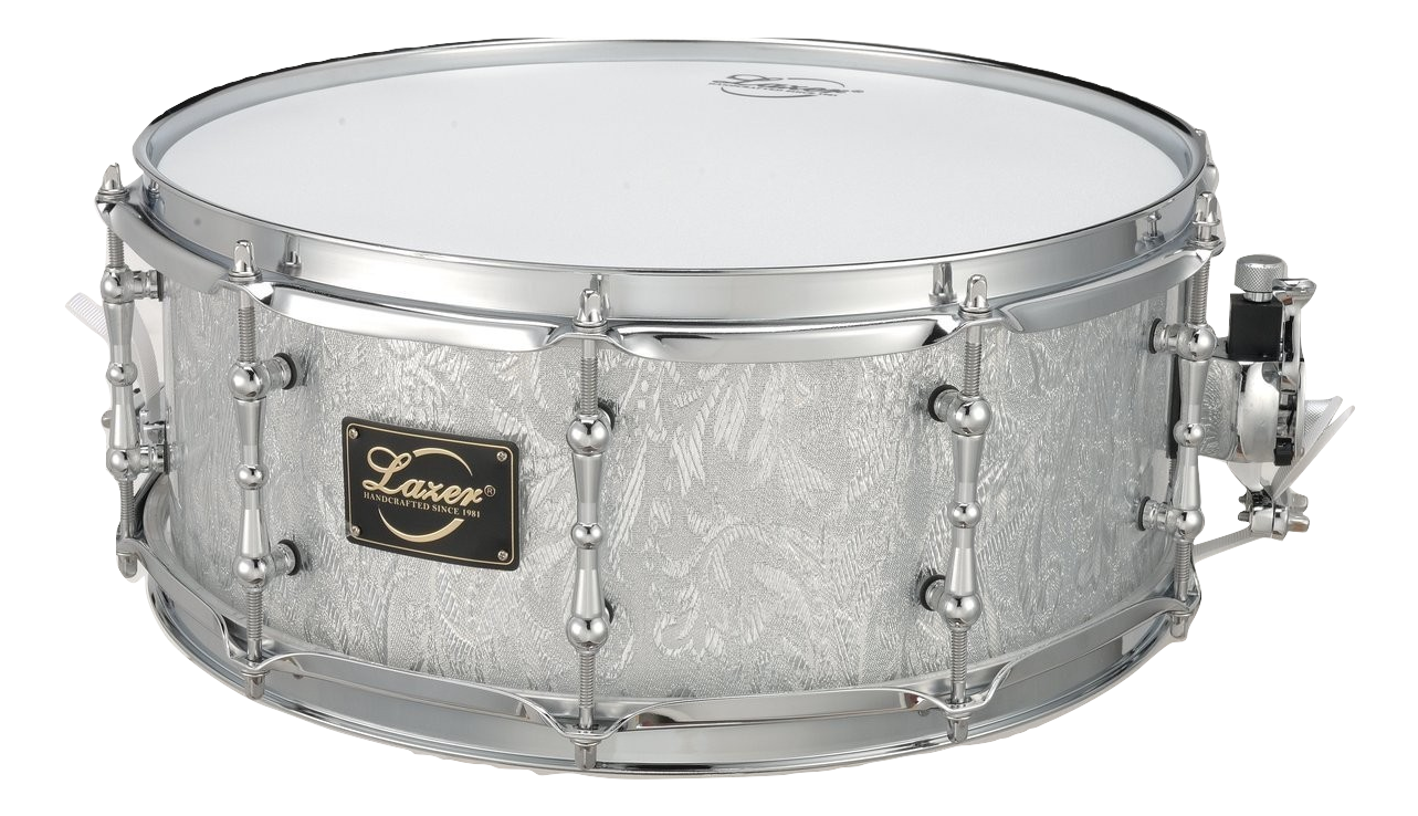 Silver Acrylic Snare Drum (SD-14B)