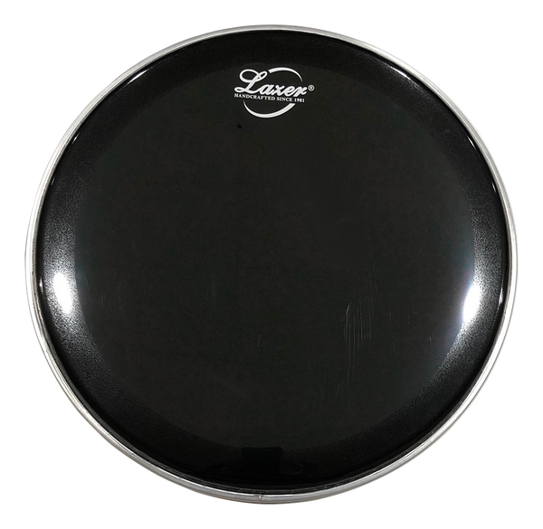 "Black Double Skin Drumhead, Bass Drum (18"" ~ 26"")"