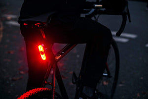 Beryl / Blaze Rear Burner set on bike - Night view