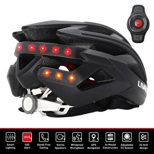 Livall BH60SE Smart cycling helmet functions & Handlebar controls
