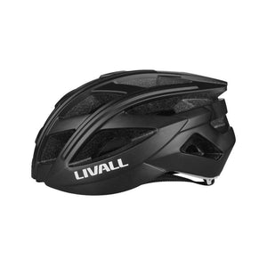 Livall BH60SE Smart cycling helmet left view - Black