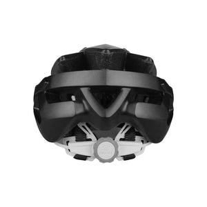 Livall BH60SE Smart cycling helmet back view - Black