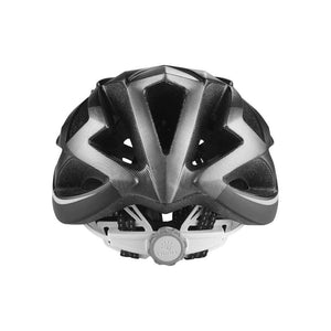 LIVALL BH62 Smart cycling helmet rear view - Matte with black & white color