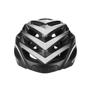 LIVALL BH62 Smart cycling helmet front view - Matte with black & white color