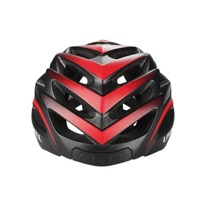 LIVALL BH62 Smart cycling helmet front view - Matte with black & red color