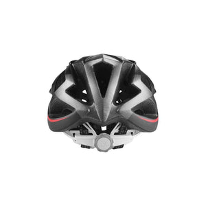 LIVALL BH62 Smart cycling helmet back view - Matte with black & red color