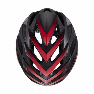 LIVALL BH62 Smart cycling helmet upper view - Matte with black & red color