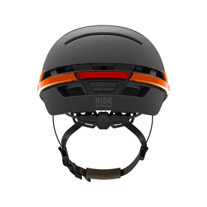 LIVALL BH51M Smart Urban Helmet Graphite Black rear view