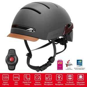LIVALL BH51M Smart Urban Helmet Graphite Black - Functions & Handlebar controls